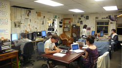 The Hoya                                                 student newspaper office in the Leavey Center