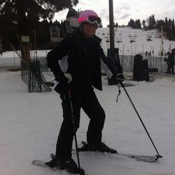 Photo of Lisa Marie Naegle skiing [2]