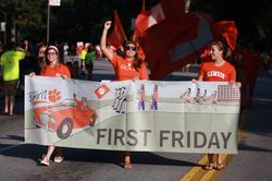 Clemson First Friday Parade