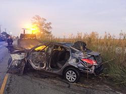 Scene of the vehicle