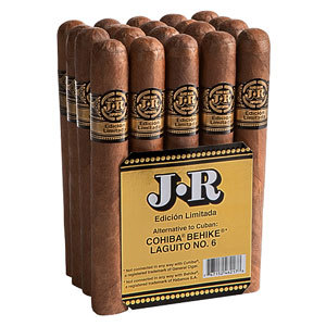 A picture from the JR Cigar website