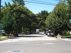 Guinda Street in Palo Alto