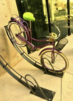 Bike Arc at Palo Alto Circle