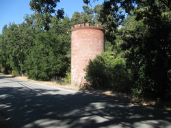Frenchman's Tower on Old Page Mill Road