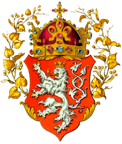 Coat of arms of Kingdom of Bohemia emerged in the 13th century