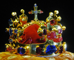 The Crown of Saint Wenceslas is the 4th oldest in Europe