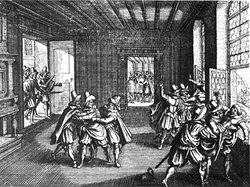 The Defenestration of Prague sparked the Thirty Years' War