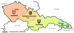 The interwar Czechoslovakia