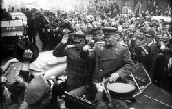 Prague liberated by Red Army in May 1945