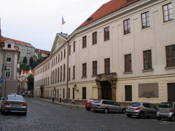 Thun Palace, seat of the Chamber of Deputies