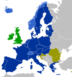 The Czech Republic is part of the EU single market and the Schengen Area.