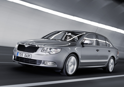 Škoda Auto is one of the largest car manufacturers in Central Europe. In 2014, it sold a record number of 1,037,000 cars and said it aimed to double sales by 2018. (image of Škoda Superb)