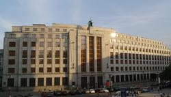 Czech National Bank in Prague