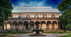 Royal Summer Palace in Prague considered the purest Renaissance architecture outside Italy
