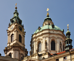 St. Nicholas' Church in Prague, a magnificent exemplar of the Bohemian Baroque