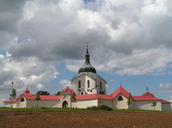 Pilgrimage Church of Saint John of Nepomuk by Santini