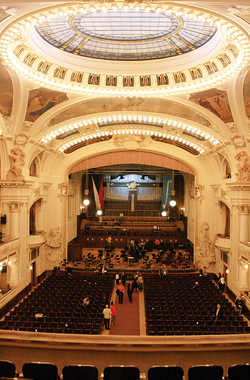Smetana Hall in Prague, one of the main venues in the annual Prague Spring Festival
