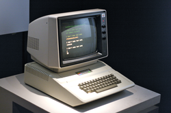The                                 Apple II                                , introduced in 1977, was a major technological advancement over its predecessor.