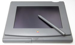 The Penlite was Apple's first attempt at a tablet computer. Created in 1992, the project was designed to bring the Mac OS to a touchscreen display - but was shelved in favor of the                                 Newton                                .                                                   [6]
