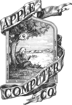 First Apple logo (April 1, 1976, Prototype)