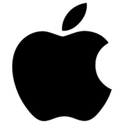 Current Apple logo since 1998.                                                   [281]                                                                  [                                                      not in citation given                                                    ]