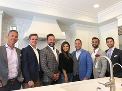 Antik Bose with his real estate investment team