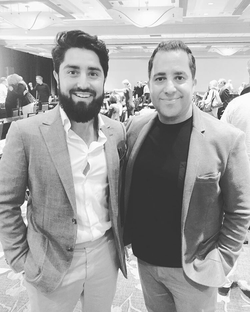 Antik Bose with Million Dollar Listings SF host Roh Habibi
