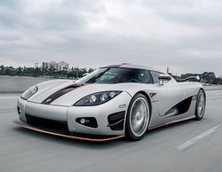 Antik Bose driving his Koenigsegg ccx