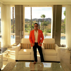 Antik Bose at his Granite Bay Mansion