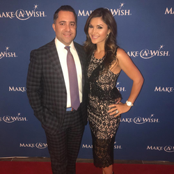 Antik Bose supporting the Make A Wish Foundation Orange County at Make A Wish l Evening of Wishes Gala 2017 at Hilton Beach Resort