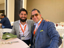 Antik Bose with Roh Habibi at Tom Ferry's Elite Retreat 2018 at JW Marriott Desert Springs Resort & Spa.