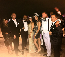 Antik Bose hosting his Birthday Party with friends at his Crystal Cove Mansion