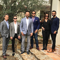 Antik Bose hosting a New Year's Party 2017 at his Granite Bay, CA Mansion with friends.