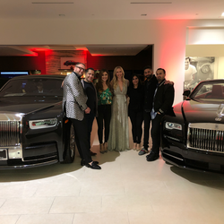 Antik Bose attending the Rolls-Royce Orange county's Private dinner party organized in association with Nobleman Magazine and Louis XIII