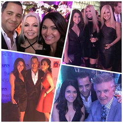 Antik Bose attending the Serving People in Need charity event (SPIN) with Terri Nunn, Alan Thicke, Terrance Howard, Candice Glover, Daryl Nelson, Tracy Di Giorgio and Elizabeth An at AnQi by House of An, Costa Mesa, CA