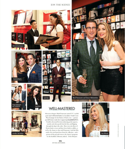 Antik Bose spotted at Mark Pomerantz's Fathers of style event supporting Goodwill of Orange County with Simara Nahabedian, Tracy DiGiorgio, Beril Akcay and The Knot owners Tim Mudrick & Polina Chebotareva. The event was also sponsored by Assouline Publishing and AnQi by Crustacean at his boutique in South Coast Plaza.