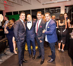 Antik Bose attending the USC Casino Royale Event by Brax Jewelers at Lamborghini Newport Beach.