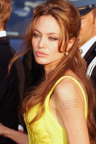 Jolie at the Cannes Film Festival in May 2007