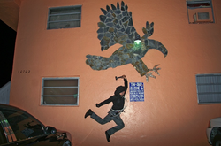 Tamargo's urban hunting photo series