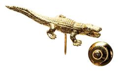 alligator jesus piece