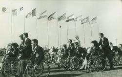 1964 Summer Paralympics                                in                                 Tokyo                                .