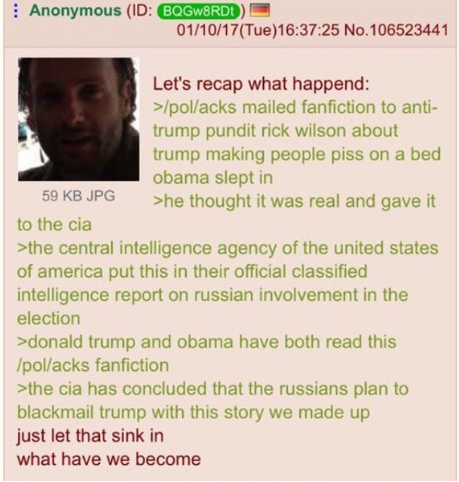 4chan summary of the story