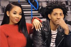 Aaleeyah Petty with her boyfriend, NBA basketball playerCameron Payne