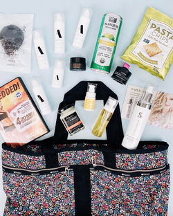 Some of the products that were included in a FabFitFun box.