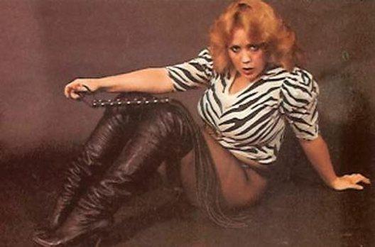 Justice Howard as a natural redhead. Circa mid 1980s.