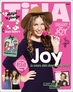 Joy on the cover of Tina Magazine (2016)