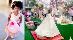 Blue Ivy's 4th birthday party
