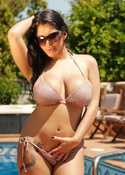 In a bikini
