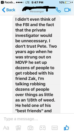 Information about Pete