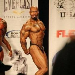 CT Fletcher at a bodybuilding contest